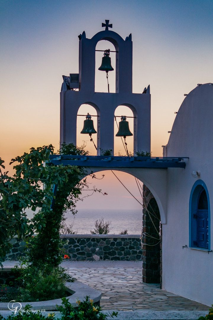 The three bells, Santorini, rg-pictures.