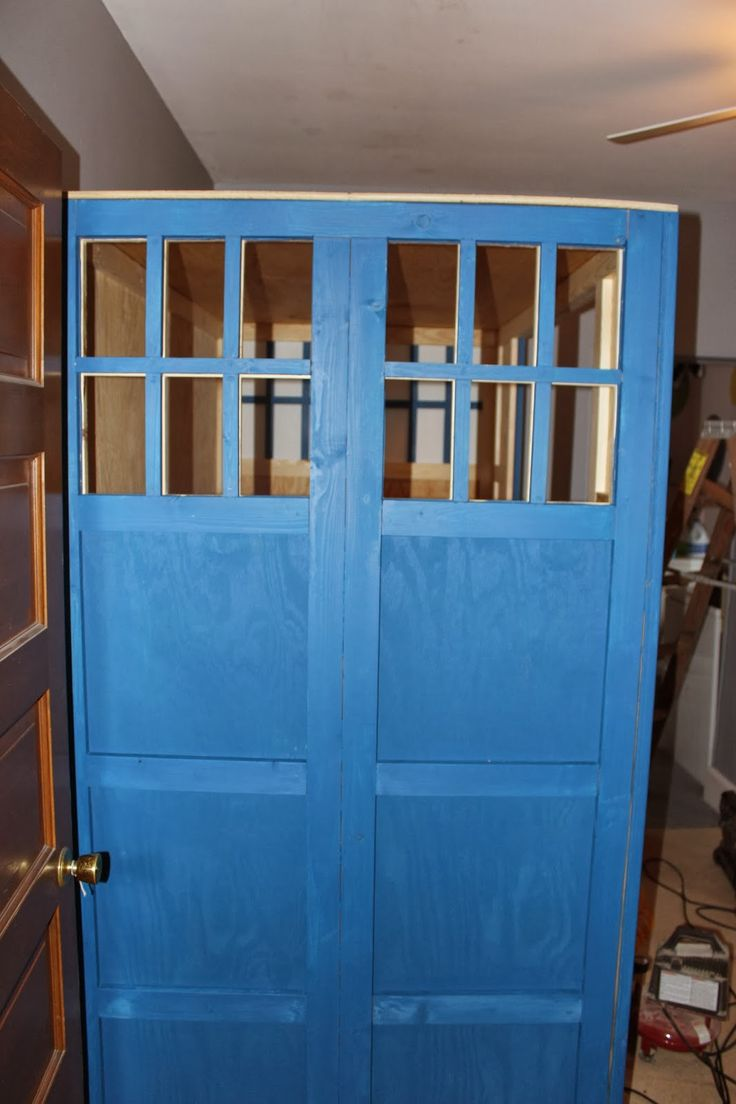 I Built A TARDIS Bed For My Daughter TARDIS Bed A Few