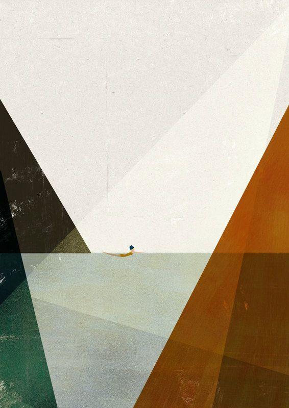 Nadadora II big print von blancucha auf Etsy – #au…