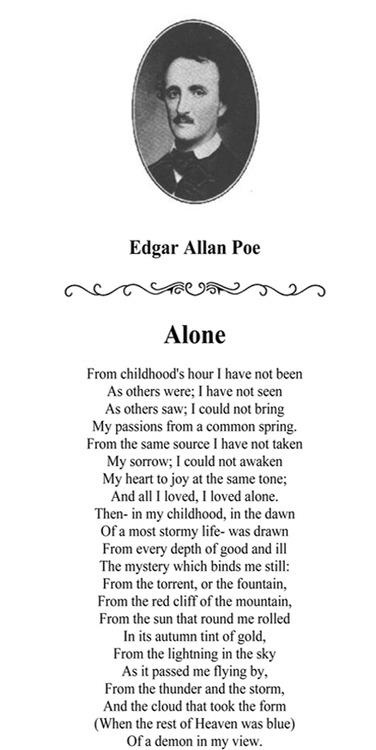 an analysis of the influence of edgar allan poes life on his short stories and poems 2018-5-16  edgar allan poe: edgar allan poe  in which he republished most of his short stories,  pythian mood was especially characteristic of the later years of his life.