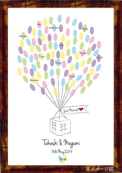 Wedding Balloon ウエディングバルーン その他 結婚式ペーパーアイテムや披露宴のパンフレット形の席次表など。こだわりブライダルのお手伝いトゥルーハートイズプット。