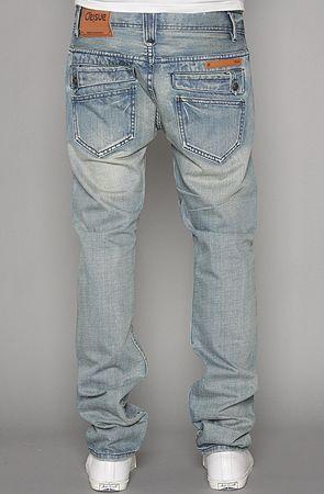 The Gibbs Slim Fit Jeans in Light Indigo