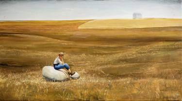 "Saatchi Art Artist Robert Szczebiot; Painting, ""Boredom"" #art"