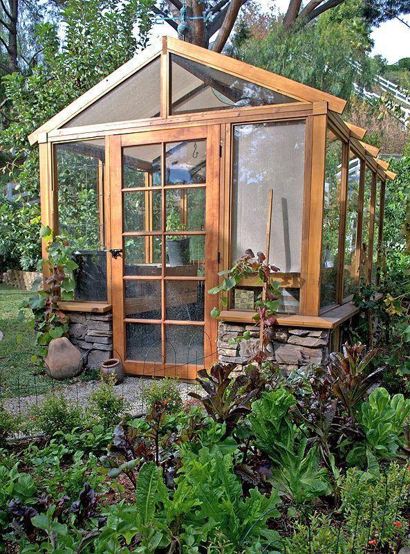 Nice greenhouse #gardensheds Shed Plans Pinterest Garden