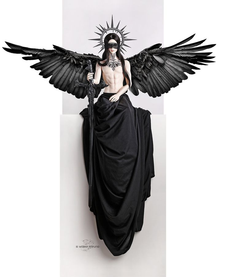 Dark Divinity by Labeculas-Dollhouse.deviantart.com on @DeviantArt