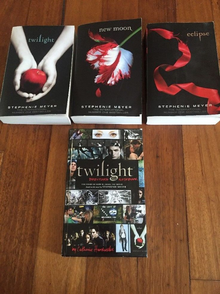 TWILIGHT Novels COLLECTION Book 1  2 And 3  And Directors Notebook  | eBay