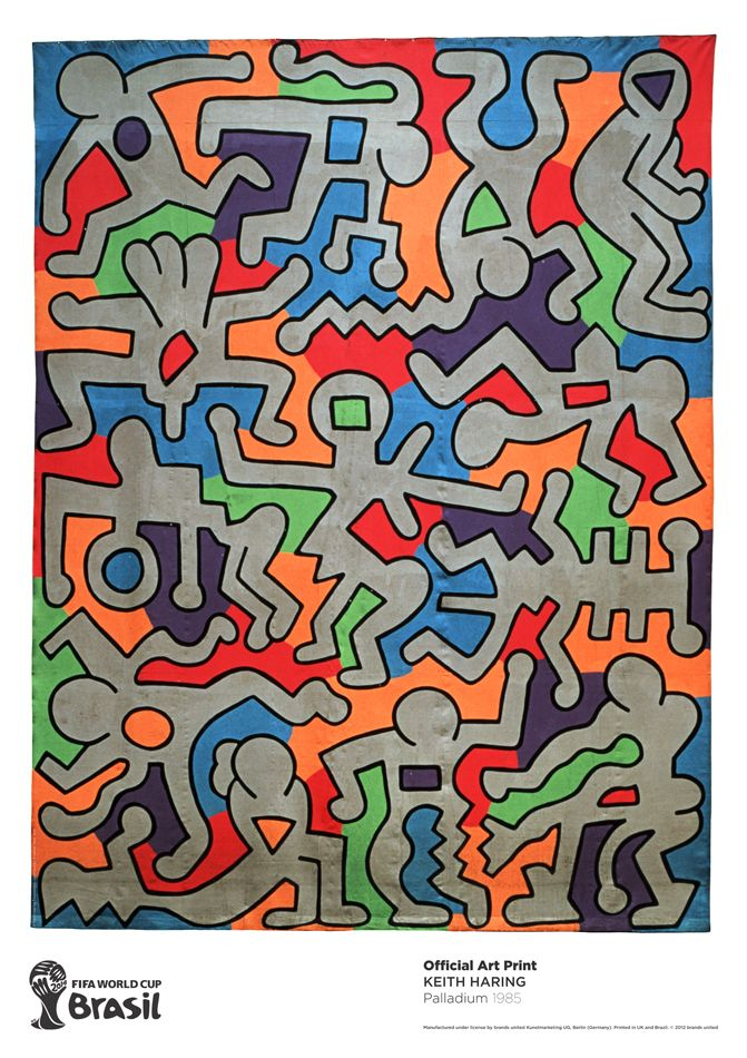 Palladium, 1985 by Keith Haring https://artsation.com/en/shop/keith-haring