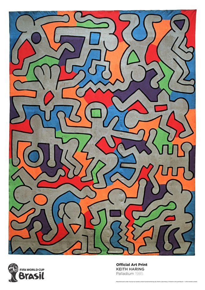 Palladium, 1985 by Keith Haring https://artsation.com/en/shop/keith-haring