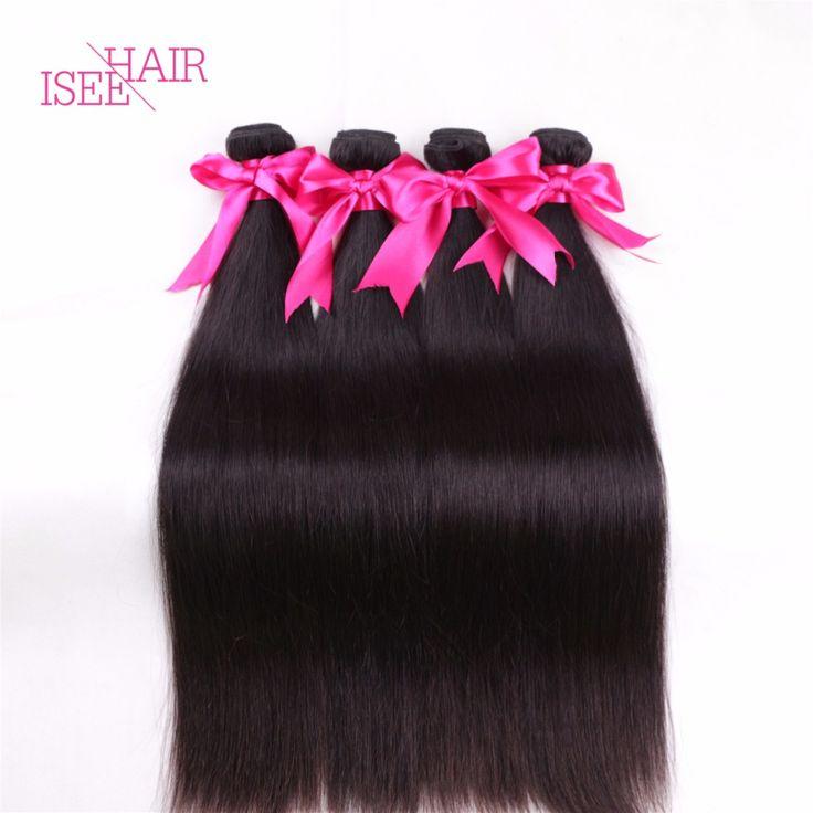 Vshow Продукты Волос 8А Малайзийские Виргинские Волосы Прямые Малайзийские Прямые Наращивание Волос Необработанные Человеческих Волос Weave Связки