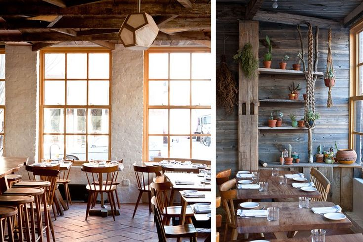 """Architect-cum-restaurateur Taavo Somer's new Williamsburg spot exudes a welcoming vibe he calls """"primitive modernism."""""""