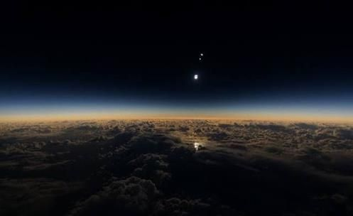 Solar eclipse of 09 March shows Planetary Body toward Earth  (PLANET X?)