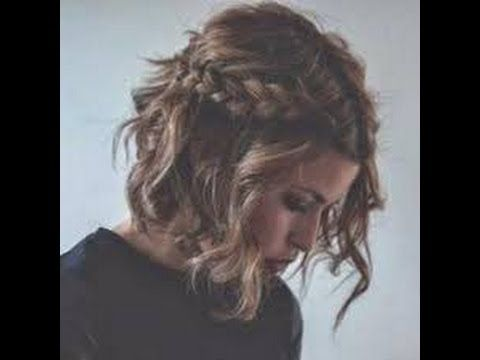 Peinados muy fáciles para pelo corto - YouTube