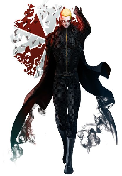Ugh in the Resident Evil mood guy's. ///Albert Wesker. I don't know the artist..