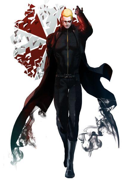 Ugh in the Resident Evil mood guy's. ///Albert Wesker. I don't know the artist..