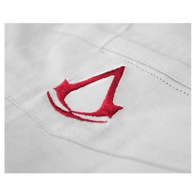 Assassin's Creed Legacy Collection - Ezio Dress Shirt, Size: Large, Gray