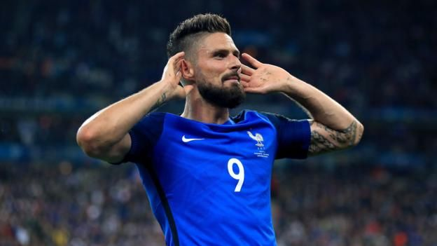 Euro 2016 hosts France thrash Iceland to set up a intriguing semi-final with world champions Germany.
