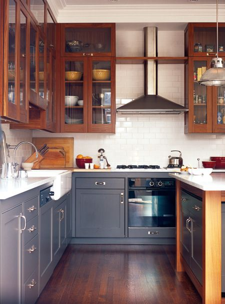 Refinish cabinets subway tiles and white subway tiles on for Save wood kitchen cabinet refinishers