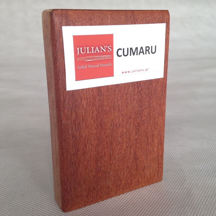 CUMARU wood sample