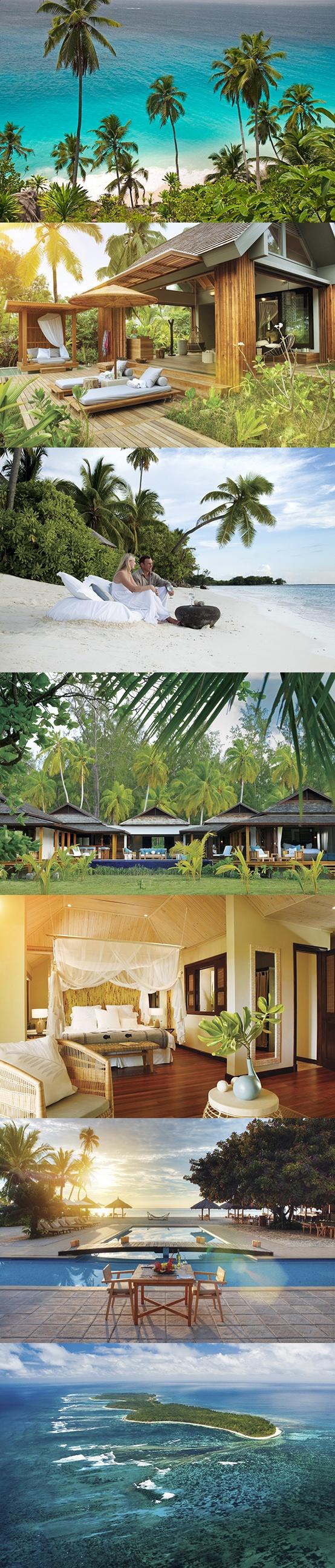 """Отель """"Desroches Island Resort ***** deluxe (остров Дерош, Сейшельские острова). Подробности: +7 495 9332333, sale@inna.ru, www.inna.ru.  Будьте с нами! Открывайте мир с нами! Путешествуйте с нами!"""