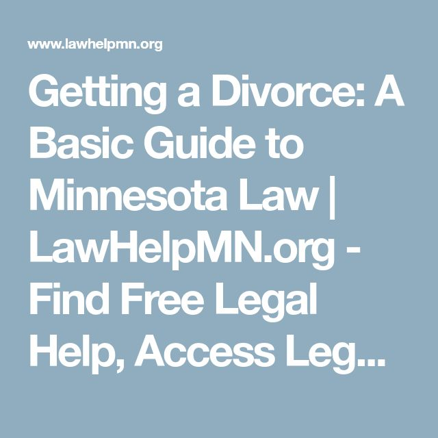 Best 25 legal aid divorce ideas on pinterest divorce papers getting a divorce a basic guide to minnesota law lawhelpmn find solutioingenieria Gallery