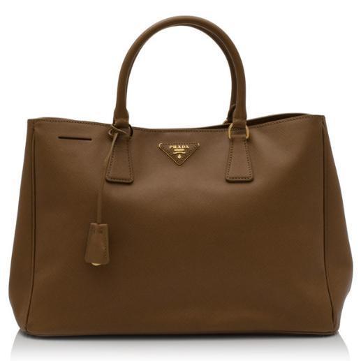 Prada Saffiano Lux Shopping Bag   on @ClozetteCo - luv in Fusia