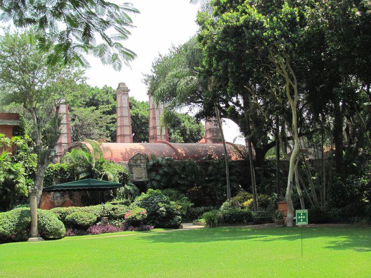 Ex Hacienda de Cortés, Cuernavaca / Hacienda de Cortés, Cuernavaca city, Morelos state Mexico