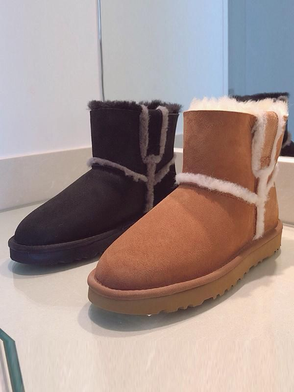 e49a5f0c6a5 Artificial Australian Fur Pure Wool Short Boots Uggs | UGGY BOOTS