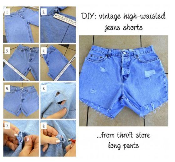 **1**////vis***********//13 modi per dare il tuo vecchi Shorts Un nuovo look Tutorial fai da te
