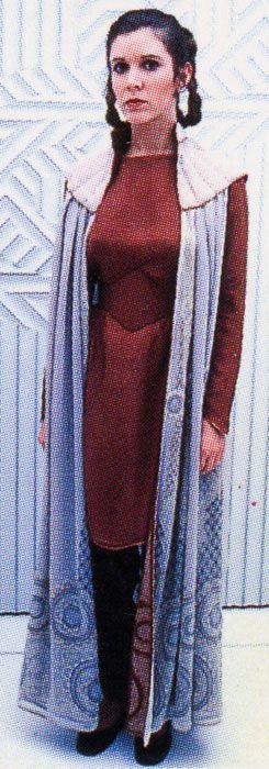A favorite Original Trilogy costume.  Leia (Carrie Fisher)