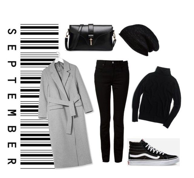 Вика by ksushkay2015 on Polyvore featuring мода, J.Crew, Boutique, Alexander Wang, Vans and Halogen