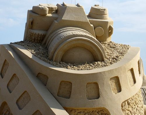 Build an amazing sandcastle. Probably not this fantastic...but pretty close