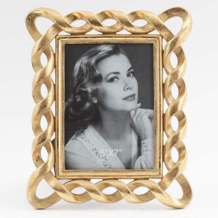 Polyresin photo #frame in antique #gold www.inart.com