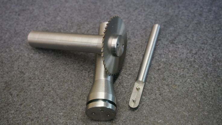 Holders for slitting saws, 20mm shank