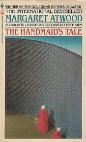 The Handmaid's Tale is a dystopian novel, a work of science fiction or speculative fiction, written by Canadian author Margaret Atwood. Set in the near future, in a totalitarian theocracy which has overthrown the United States government, The Handmaid's Tale explores themes of women in subjugation and the various means by which they gain agency. The novel's title was inspired by Geoffrey Chaucer's The Canterbury Tales.