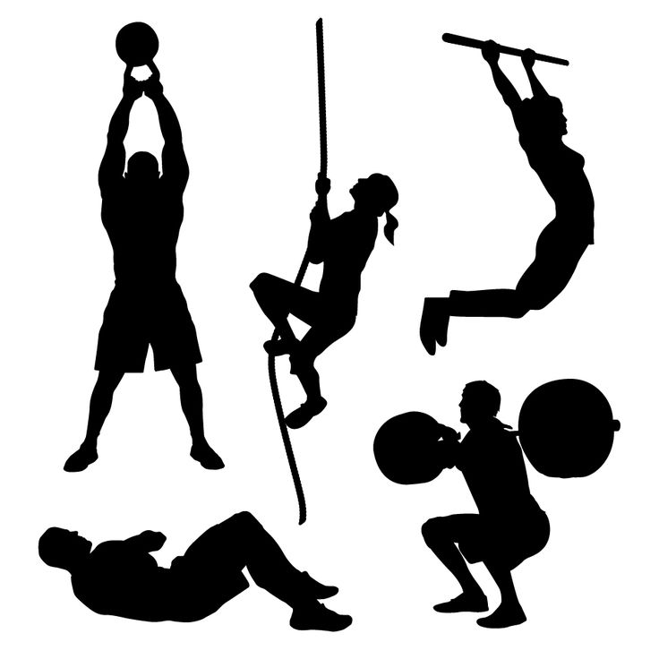 women weightlifting clipart