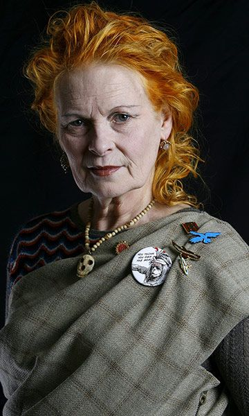 Credit: Philip Hollis/Rex Features Dame Vivienne Westwood, here photographed in her studio in London in 2007