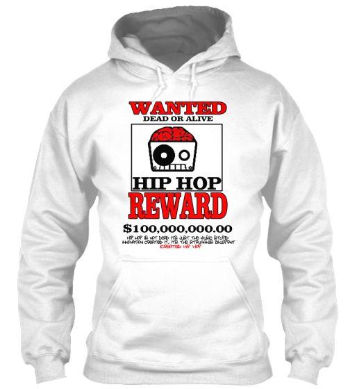 iCrEATED HIP HOP WANTED   Teespring
