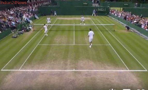 Wimbledon 2017: Mansour Bahrami, Michael Llodra, Lleyton Hewitt, Mark Philippoussis play point of the tournament; watch