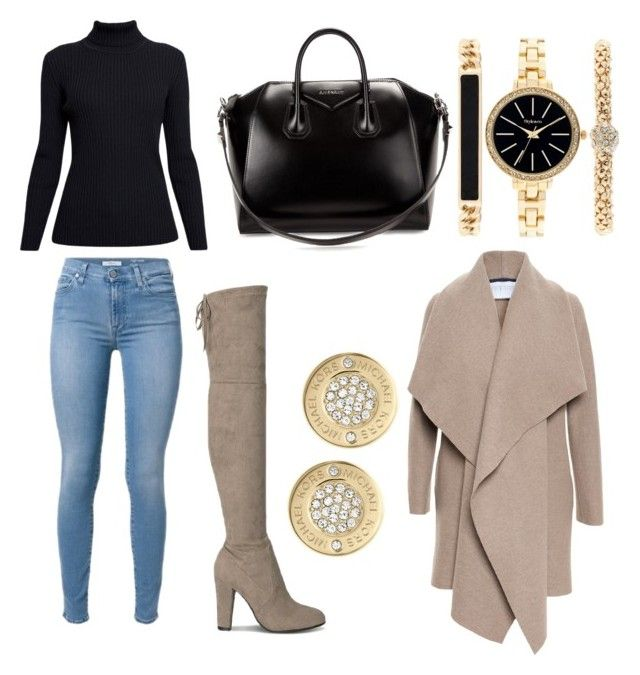 City chic by tymarahshand on Polyvore featuring polyvore, fashion, style, Rumour London, Harris Wharf London, Givenchy, Style & Co., Michael Kors and clothing