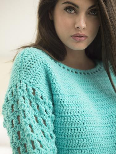 Free Crochet Pattern: Vannas Choice? Myrtle Beach Pullover ...