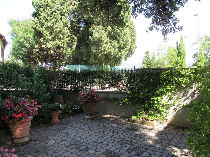 Residence Fiesole giardino al piano terreno