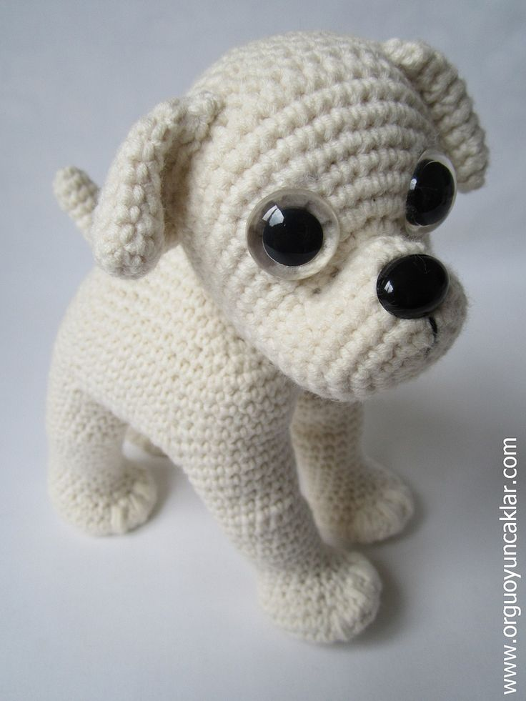 Amigurumi Pug Dog Pattern : Amigurumi Bulldog Pattern Puppys, Inspiration and So cute