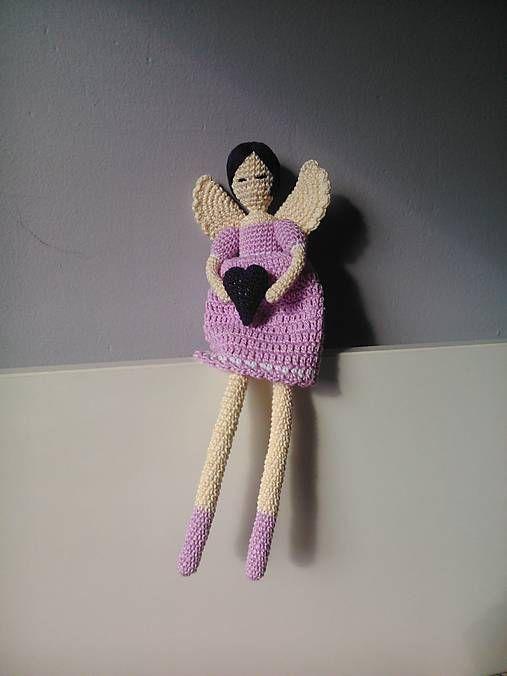 Crochet angel kaizerka / Anjelik Lila