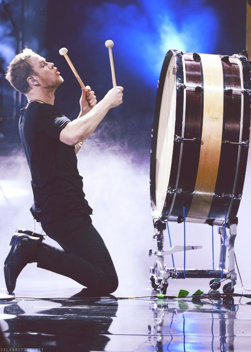 Dan Reynolds. I may like his drum more...but it would be a close call. ;) Both are pretty much incredible.