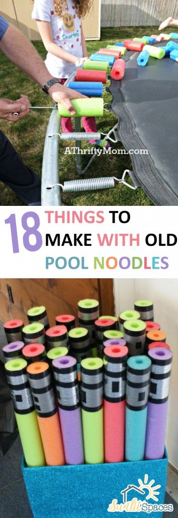 ⚡⚡yes Indeed!! Totally doing to kids trampoline. Now, if someone could figure out a way that kids don't get mat burn ...they'd be millionaires ⚡⚡   Old Pool Noodles, Old Pool Noodle Crafts, Crafts for Kids, Things to Do With Old Pool Noodles, Crafts, Crafting Tips and Tricks, DIY Projects, DIY Home, DIY Crafts, Crafts for Kids, Popular