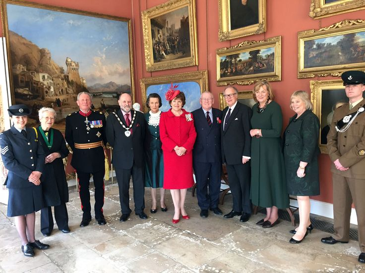 (1632×1224) 14th March 2016, Richard Steel was formally presented with his British Empire Medal (BEM) awarded in the Queen's Birthday Honours list 2015 for services to the community and to charity. At ceremony in the private Chapel at Bowood House (the 16th Century home of the Marquis of Lansdowne with gardens by Capability Brown) the Lord-Lieutenant of Wiltshire, Mrs Sarah Rose Troughton, presented Richard with his medal – in the presence of Lord and Lady Lansdowne and...