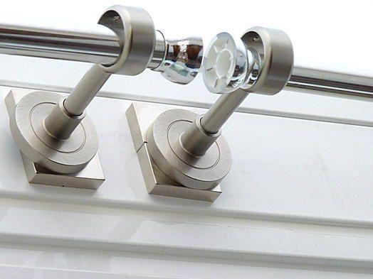 Applications aimants - Installer des tringles à rideaux sans percer avec des aimants - supermagnete.fr