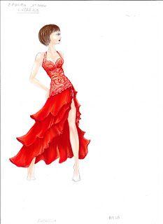 Elegance Is In The Mind: Vi mostro alcune creazioni degli abiti di Ballando...