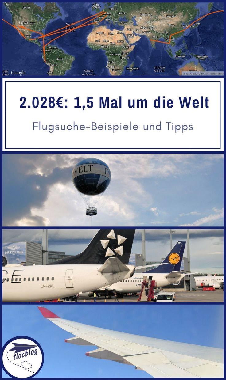 Für 12 Flüge und 4 Kontinente bezahlst du mit einem Round The World Ticket 3.000-4.000 Euro. Hier erfährst du, wie du für 2.028 Euro in 12 Flügen 4 Kontinente besuchst. #Backpacking #Reise #Rucksackreise #Weltreise #Reisetipps #Flugsuche #Flug #Stopover #RTW #RoundTheWorld #Spartipp #günstig #RoundTrip #Oneway