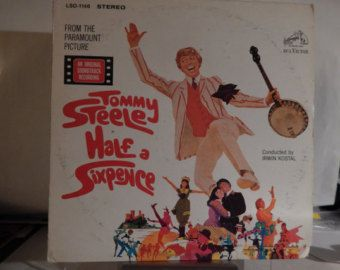 "HALF A SIXPENCE (1968, avid Heneker) Tommy Steele; Rare Mint 12"" Vinyl LP Soundtrack! Delightful Musical, great songs, nice cover too! - Edit Listing - Etsy"